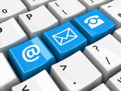 Αποστολή Email & Fax - Βιβλιοπωλείο Ροζ Πάνθηρας